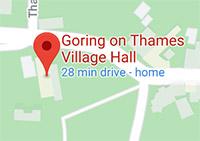 map of goring